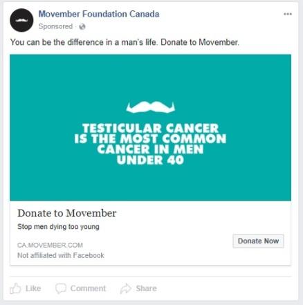 Movember Canada - 2017 11 - 18