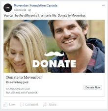 Movember Canada - 2017 11 - 19