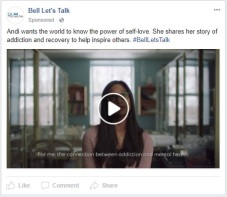 Bell Let's Talk ad - 6