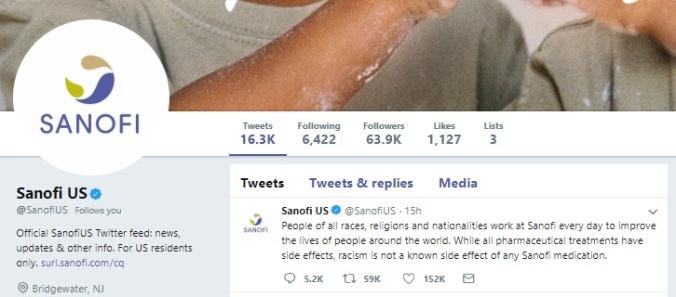 Roseanne Barr - Ambien tweeting - Sanofi response