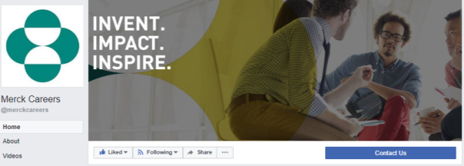 FB cover - Merck careers