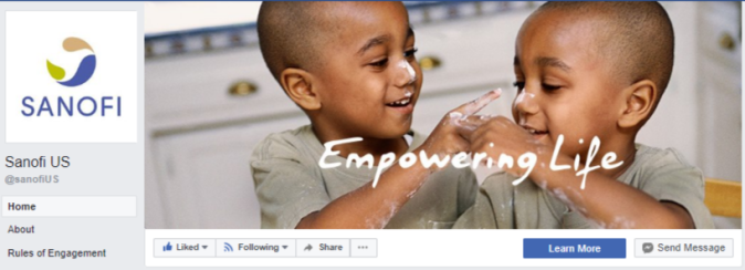 FB cover - Sanofi US
